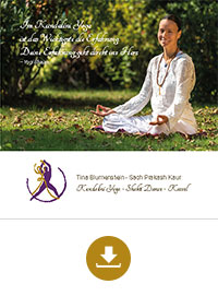 Download Flyer PDF Tina Blumenstein Kundalini Yoga - Shakti Dance - Kassel